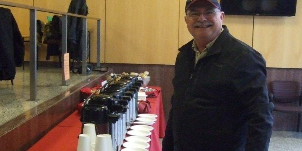 Coffee at the Cornell Pesticide Applicator Update training